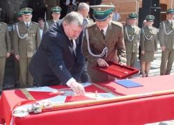23.05.2014 r. - Racibórz, Patron Śląsko-Małopolskiego OSG-16