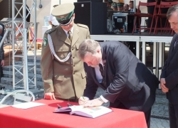 23.05.2014 r. - Racibórz, Patron Śląsko-Małopolskiego OSG-17