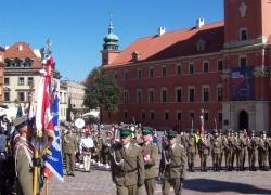 5.08.2014 r. – Warszawa, 10. rocznica utworzenia Nadwiślańskiego Oddziału SG-15