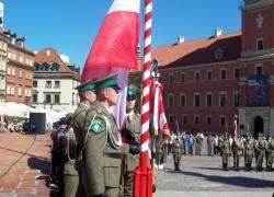 5.08.2014 r. – Warszawa, 10. rocznica utworzenia Nadwiślańskiego Oddziału SG-16