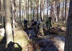 Tynne 5-9.10.2015 Odnaleziona mogiła żołnierzy KOP-1