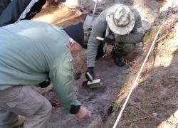 Tynne 5-9.10.2015 Odnaleziona mogiła żołnierzy KOP-6