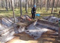 Tynne 5-9.10.2015 Odnaleziona mogiła żołnierzy KOP-9