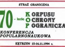 14-16.11.1994 r. - Kętrzyn-1