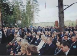06-09.2000 r. - otwarcie i poświęcenie Polskich Cmentarzy Wojennych-14