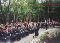 06-09.2000 r. - otwarcie i poświęcenie Polskich Cmentarzy Wojennych-3