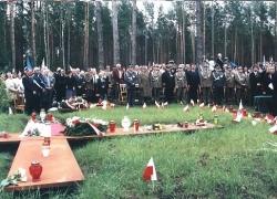06-09.2000 r. - otwarcie i poświęcenie Polskich Cmentarzy Wojennych-9