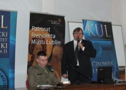 08.11.2013 r. - Lublin, Konferencja w KUL-16
