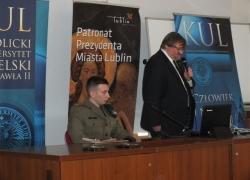 08.11.2013 r. - Lublin, Konferencja w KUL-17