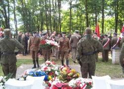 27.09.2013 r. - Włodawa, Wytyczno, 74. rocznica bitwy pod Wytycznem-22